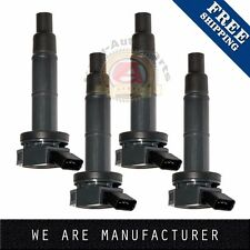4x Ignition Coil For Toyota Camry Lexus Scion Rav4 Highlander Tc 2.4L Uf333
