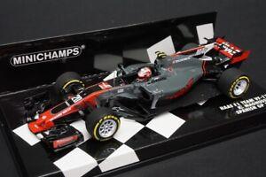 1:43 MINICHAMPS 417170020 HAAS F1 Team Ferrari VF-17 K.Magnussen 2017 model car