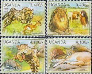 uganda 2805-2808 MNH 2012 Cats