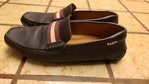 BALLY PEARCE DRIVE LOAFERS US 10