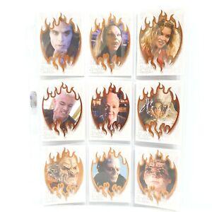 IKON Collectables Buffy the Vampire Slayer - Slayer Demon Foil Trading Card Set