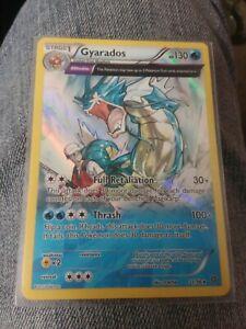Pokemon GYARADOS Full Art Holo XY Ancient Origins 2015 Rare Card
