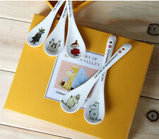 Moomin Valley Characters Little My Moomin Snufkin Snork Ceramic 5 Spoon Set