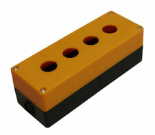 "4-Hole Switch Box for 22mm 7/8"" PushButton Plastic Enclosure Power Push Button"