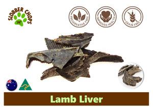 6kg LAMB LIVER NATURAL HIGH OMEGA 3 GRASS FEED LAMB GRAIN FREE DOG TREAT