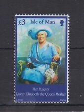 ISLE OF MAN MNH UMM STAMP 2002 QUEEN MOTHER COMMEMORATION SG 982