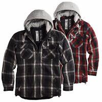 ★ SURPLUS Raw Vintage™ Herren LUMBERJACK Jacket HOLZFÄLLER Flanell Jacke