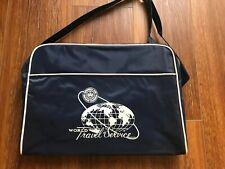 VINTAGE AAA WORLD TRAVEL SERVICE BAG DEAD STOCK 1960S 60S