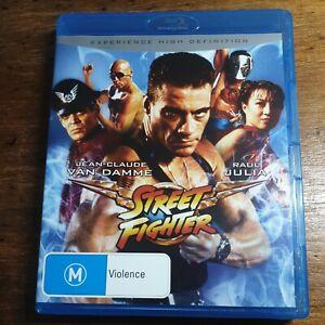 Street Fighter Blu-Ray LIKE NEW! FREE POST Van Damme Kylie Minogue