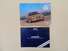 2001 VOLVO S60 OWNERS MANUAL