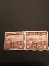 South West Africa Official SG017 1938 1 1/2 Unmounted Mint KGVI