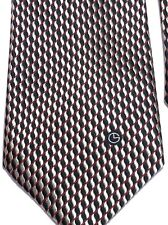 "GOLDLION HIGH FASHION Men's Tie 56"" X 4"" 100% Silk Black Golden Red"