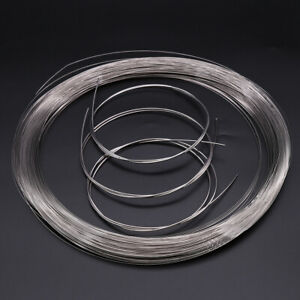 Single Rope Spring Steel Hard Wire 0.4mm-2mm High Strength A2 Stainless Steel
