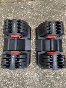Adjustable Dumbbells 2 x 32 KG PAIR SET ( 64 kg total )
