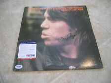 George Thorogood Move It On Over Signed Autographed Album LP PSA Certified