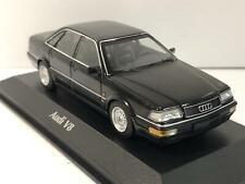 Maxichamps 940016000 Audi V8 1988 Black Metallic 1:43 Scale