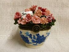 Boyds Bear Bearlove's Flower Bouquet W/Momma & Baby McNibble Treasure Box 82530