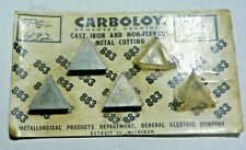 3 Pieces Carboloy Tpg 432 883 Carbide Inserts F774