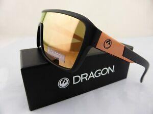 Dragon REMIX Sunglasses Matte Black - Lumalens Rose Gold Ionised Lens