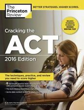 CRACKING THE ACT 2016 Princeton Review study guide college preparation book NEW