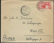 1943 Bellina Italy Cover to Wien Austria