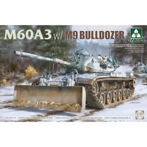 Takom 1/35 M60A3 w/M9 BULLDOZER Plastic Model Kit 2137