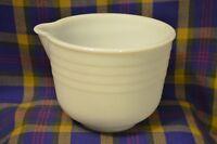 Vintage PYREX Milk Glass General Mills, INC Minneapolis Small Mixing Bowl w/Spou