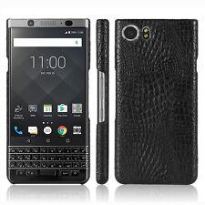 Nuevo Diseño De Lagarto Negro Estuche Rígido Cubierta Trasera Para Blackberry KeyOne