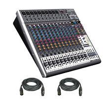 Behringer XENYX X2442USB Premium 24-Input 4/2-Bus Mixer w/Mic Preamps & Compres