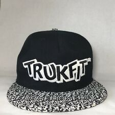 Trukfit LIL Wayne Baseball Cap Adjustable Black & White