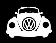 "VW Beetle Custom Car Vinyl Decal Sticker 8"" x 5"""