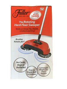 Roto Sweep by Fuller Brush Co The Rotating Hard Floor Sweeper Cordless NIB