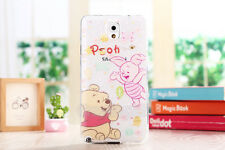 Cartoon Mouse Soft Clear Phone Case for Samsung Galaxy Note3 4 5 S3 S6 S7 Edge