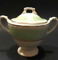 Vintage Homer laughlin georgian eggshell Sugar Bowl