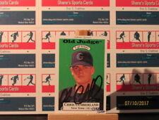Carte collezionabili baseball 1996