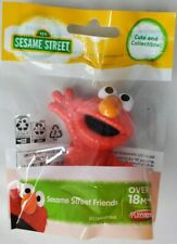 "Rare Sesame Street Friends Mini Figure Elmo Collectible New 3"" - New in Bag"