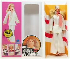 1977 Kenner The Bionic Woman Jamie Sommers Doll In Reproduction Box (4) No.65800