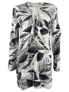 La Blanca Women's Moment Of Zen Printed Tunic Dress Swim Cover-Up