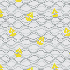 Maritime Modern Come About Gray by Marin Sutton for Riley Blake, 1/2 yard fabric