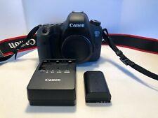 **MINT** Canon EOS 6D 20.2MP Digital SLR Camera - Black (Body Only)