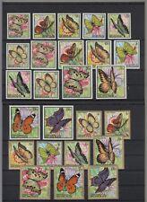 BURUNDI, 1968 Schmetterlinge 411-35 **, (27910)