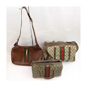 Gucci PVC Leather Hand/Shoulder Bag 3 pieces set 526117