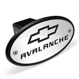 Chevrolet Avalanche Chrome Metal Plate 2 inch Tow Hitch Cover