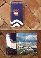 ORIGINAL 1976 INNSBRUCK AUSTRIA OLYMPIC GAMES SOUVENIR TOURIST BROCHURE