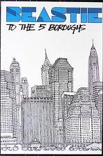 Beastie Boys - To The 5 Boroughs - Original Rock Promo Set Of 4 Posters (2004)
