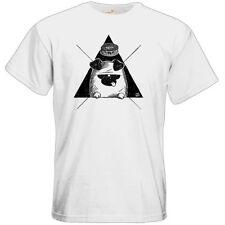 Bequem sitzende Herren-T-Shirts Hipster L