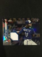 2020 TOPPS CHROME BO BICHETTE Jersey Relic RC Rookie Refractor Blue Jays Target