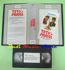 VHS film TOTO' A PARIGI Koscina Gravey Masiero Carotenuto FCV 1014 (F35) no dvd
