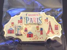 DMR Disney Around the World Pin #4 Paris Remy Ratatouille Original Pkging