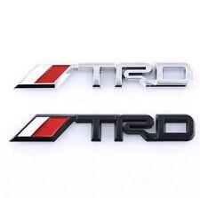 3D TRD BADGE CHROME STICKER FOR TOYOTA MR2 SUPRA CELICA 86 COROLLA